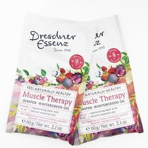 Dresdner Essenz Muscle Therapy Essential Oil Bath Salts Set of 2